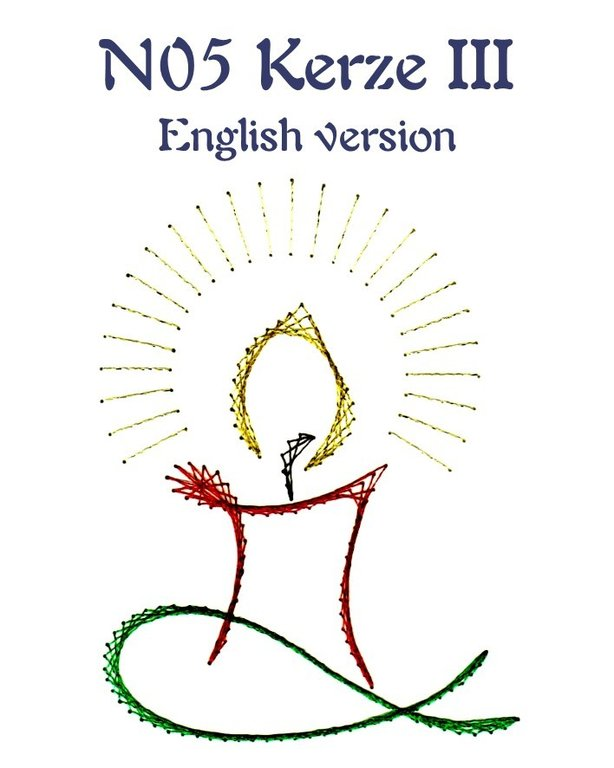 Kerze III English version