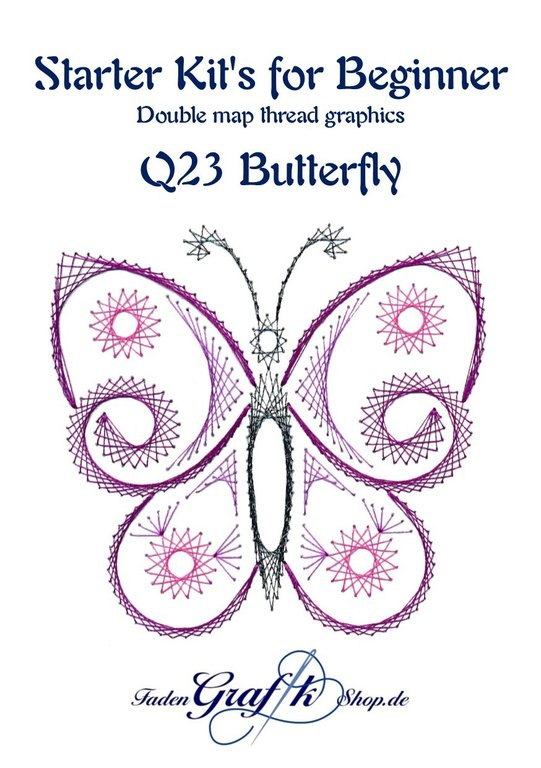 Probierset Q23 Butterfly English version