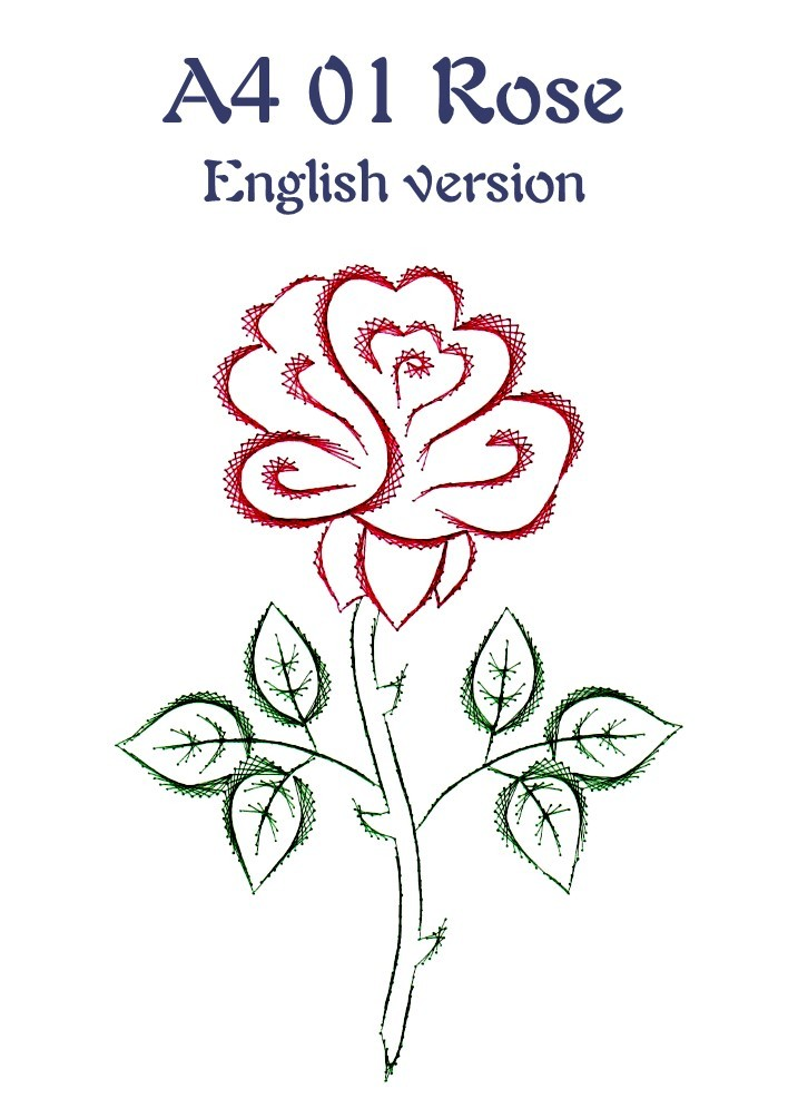 DL A4 01 Rose English version