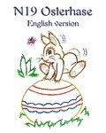 DL N19 Osterhase English version