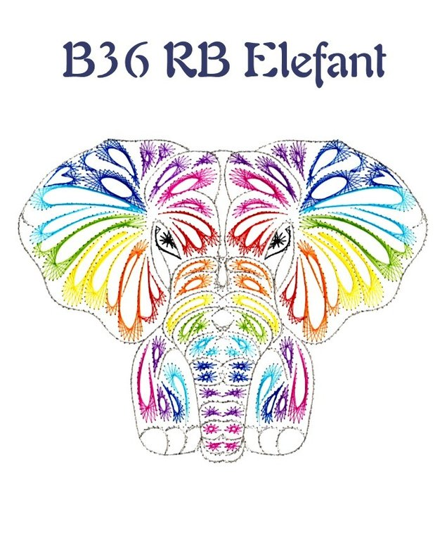 DL B36 RB Elefant